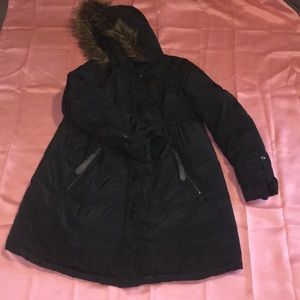 Momo Maternity Down/Feather Filled Coat